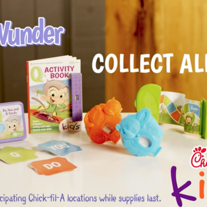 Q Wunder in Chick-fil-A Kid's Meals
